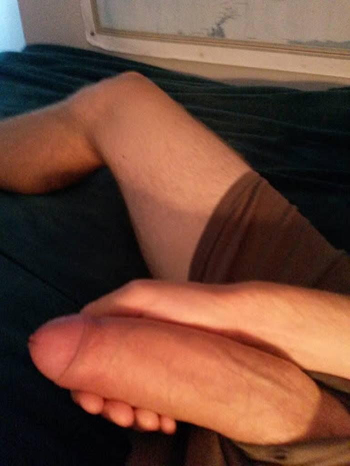 Foto de penis duro